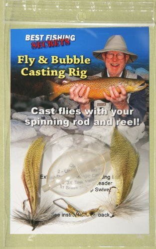 BestFishingSecrets Fly & Bubble Casting Rig