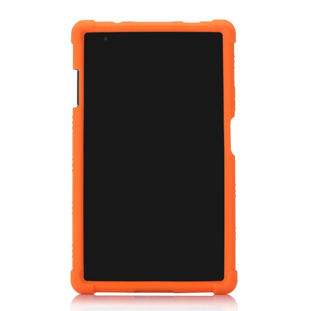 Yudesun Case for Lenovo Tab4 8 Plus Stand Silicone Soft Skin Pouch Rubber Protective Cover Case for Lenovo Tab 4 8 Plus TB-8704F//N 8 Tablet