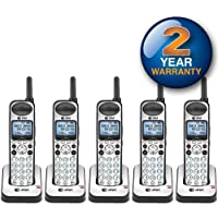 AT&T SB67108 Wireless Handheld Telephone and Charger with New DECT 6.0 Technology (5 Pack)