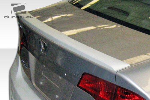 2006-2011 Honda Civic 4DR Duraflex Type M Wing Trunk Lid Spoiler - 1 Piece (4dr Duraflex Fiberglass Type)