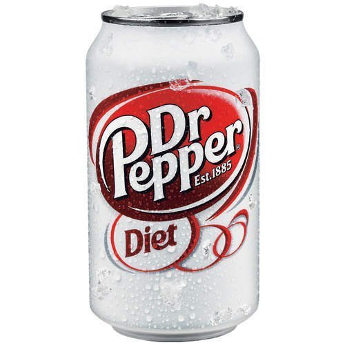 (Diet Dr. Pepper, 12-Ounce Cans (Pack of 24))