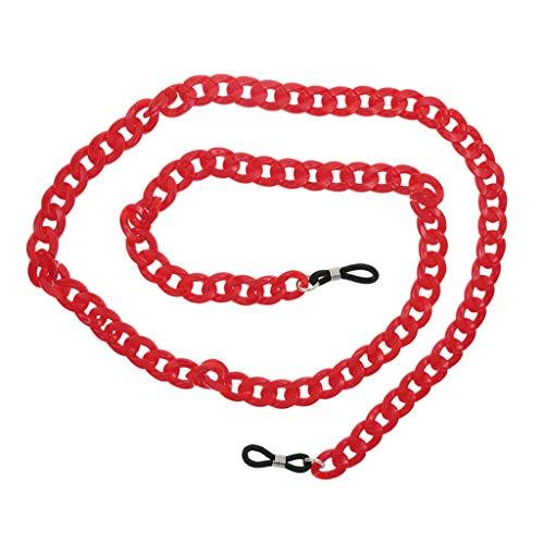 unds Lectura Cadena de Anteojos para Cuello 1 Sharplace en Rojo Mujeres Gafas Colgante qxwBXE5nY