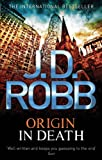 Front cover for the book Origin in Death by J.D. Robb