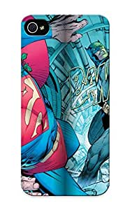Durable Defender Case For Iphone 5/5s Tpu Cover(dsng Ci Fi Megaverse Uperman Batman Poster Plu New Art By)
