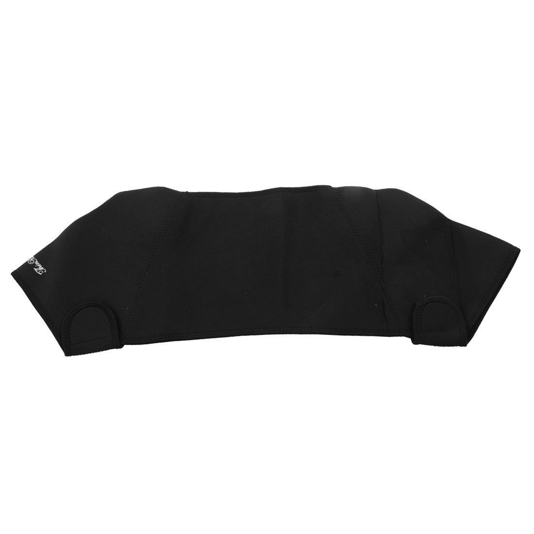Amazon.com: eDealMax neopreno Hombres Deportivo Ajustable soporte Para Doble del hombro del Abrigo del Protector Brace Negro: Health & Personal Care