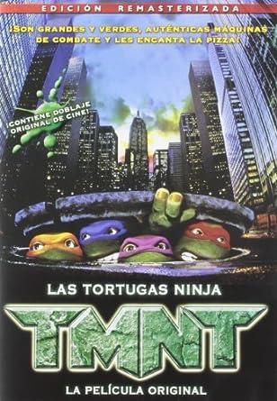 Amazon.com: TMNT 1, La Pel??cula Original (Import Movie ...