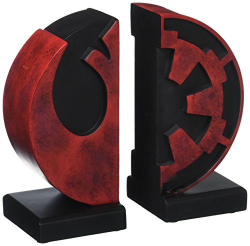Gentle Giant Studios Star Wars: Imperial Rebel Logo Resin Bookends (Best Star Wars Statues)