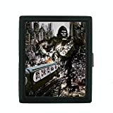 Metal Cigarette Case Vintage Poster D-087 King Kong Attacking the City Train