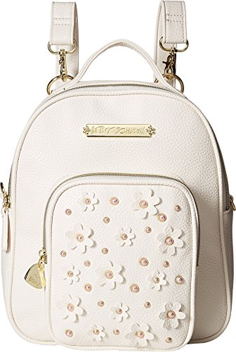 Price comparison product image Betsey Johnson Womens Medium Backpack Bone One Size