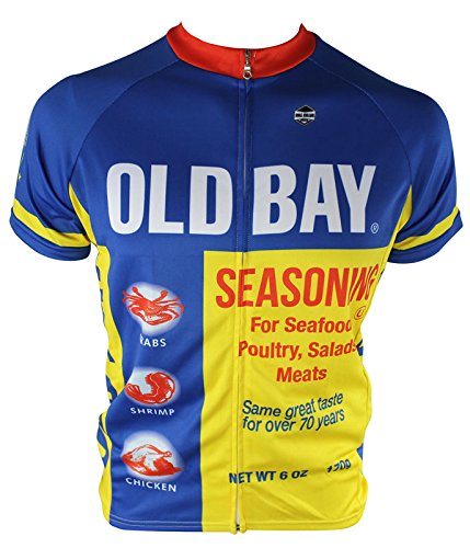 Cycling Jersey Maryland - Hill Killer Old Bay Cycling Jersey (XX-Large)