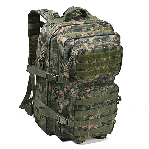 c939cfe90d4f REEBOW GEAR Military Tactical Backpack Large Army 3 Day Assault Pack Molle  Bag Backpack Rucksacks for Outdoor Hunting Hiking Camping Trekking Woodland  ...