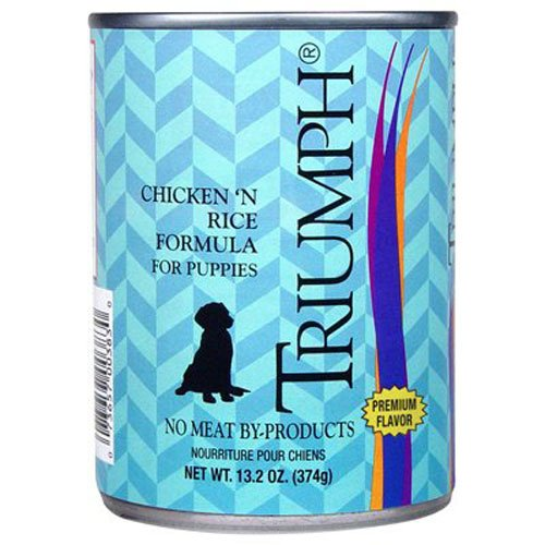 Triumph Puppy Chicken Canned Food, Case Of 12, 13.2 Oz.