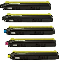 Sophia Global Compatible Toner Cartridge Replacement for Brother TN210 (2 Black, 1 Cyan, 1 Magenta, 1 Yellow) by Unknown
