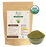 100% Organic Aloe Vera Powder – 227g/0.5 LB USDA Organic Certified (Aloe Barbadensis) for