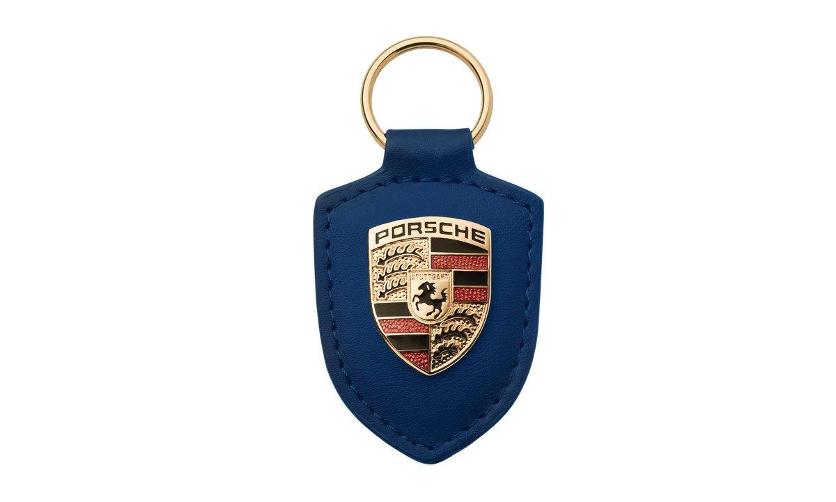 DesignTek Porsche Llavero de Piel, Color Azul - WAP0500950E ...