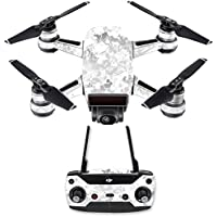 Skin for DJI Spark Mini Drone Combo - Viper Snow| MightySkins Protective, Durable, and Unique Vinyl Decal wrap cover | Easy To Apply, Remove, and Change Styles | Made in the USA