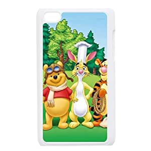 Ipod Touch 4 Phone Case The Many Adventures of Winnie the Pooh Personalized Cover Cell Phone Cases GHW497146