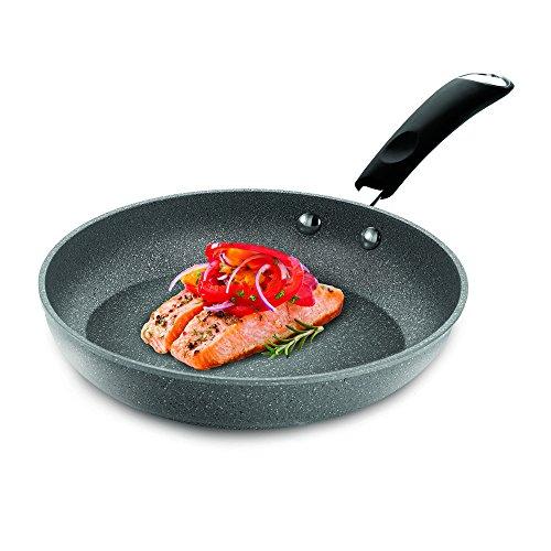 Bialetti Granito Nonstick Fry Pan, 12-Inch, Gray