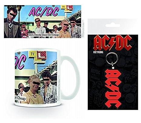 1art1 AC/DC, Dirty Deeds Taza Foto (9x8 cm) Y 1 AC/DC ...