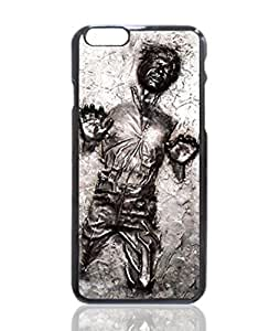 Star Wars Han Solo Carbonite frozen image Custom iPhone 6 - 4.7 Inch Individualized Hard Case - Black Case