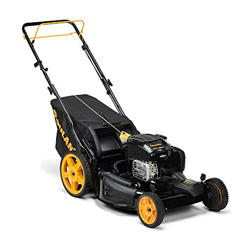Poulan Pro 961420141 PR675Y22RHP Briggs 675 EXI Side Discharge/Mulch/Bag 3-in-1 Lawnmower with 22-Inch Deck by Poulan Pro