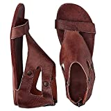 Womens Sandals Flat Ankle Gladiator Thong Flip Flop Beach Leather Casual Summer Slippers