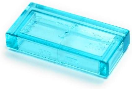 Free shipping!! LOT OF 50 BLUE LEGO 1X2 BRICKS