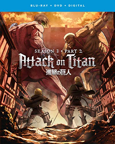 Attack on Titan: Season 3 – Part 2 Blu-ray + DVD + Digital – BD Combo Pack