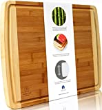 Finally - A Truly Extra Large Bamboo Cutting Board XL to Give You All the Space You Deserve Tired of not enough work space on your seemingly extra x large board? What about dicing something large like a butternut squash or a watermelon? Don't...
