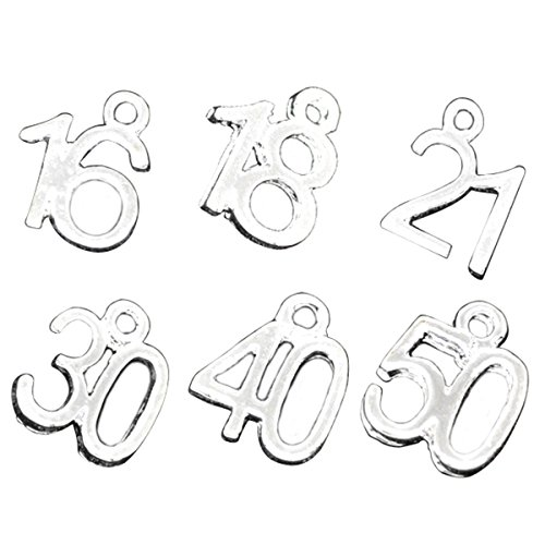 number charms - 5