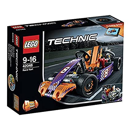 Amazoncom Lego Technic 42048 Race Kart Mixed Toys Games
