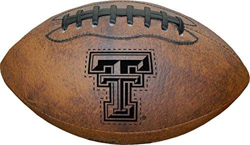 NCAA Texas Tech Red Raiders Vintage Throwback Football, 9-Inches