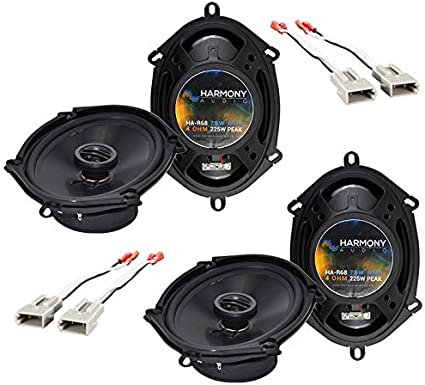 Amazon Com Compatible With Ford F 150 1997 2003 Factory Speaker Replacement Harmony 2 R68 Package New Car Electronics