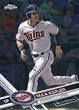 2017 Topps Chrome #49 Max Kepler Minnesota Twins Baseball Card