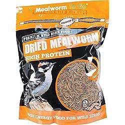 UNIPET USA Mealworm To Go Dried Mealworm Wild Bird Food 30 OUNCE