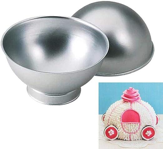 FTFSY Balón Pan-Torta mandíbula Molde de Aluminio Varilla de ...