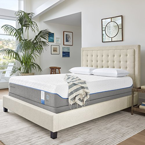 (Tempur-Pedic TEMPUR-Cloud Supreme Breeze 11.5-Inch Soft Cooling Foam Mattress, King, Made in USA,  10 Year Warranty)