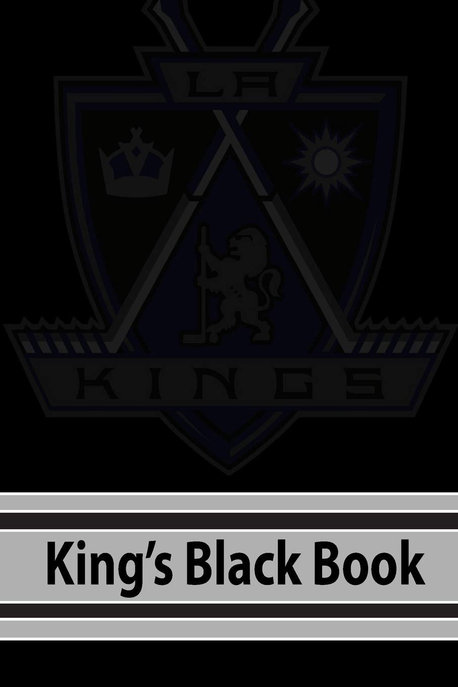 Kings Black Book: My First Hockey Dot Journal | NHL 2018-2019