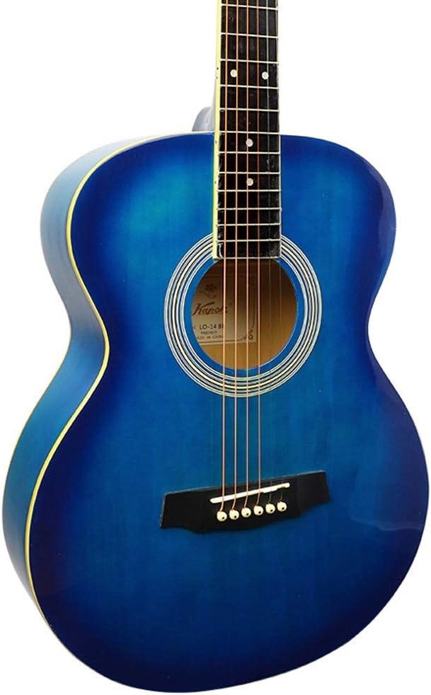 Guitarra HuAma Madera De 40 Pulgadas Redondeada para Niños Y Niñas ...