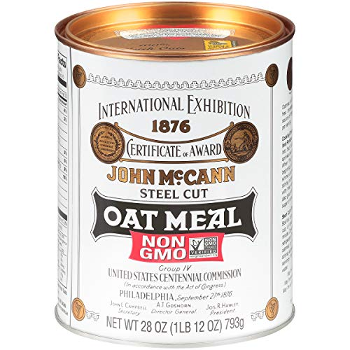 McCann's Traditional Steel Cut Irish Oatmeal, 28 Ounce (Pack of 4)