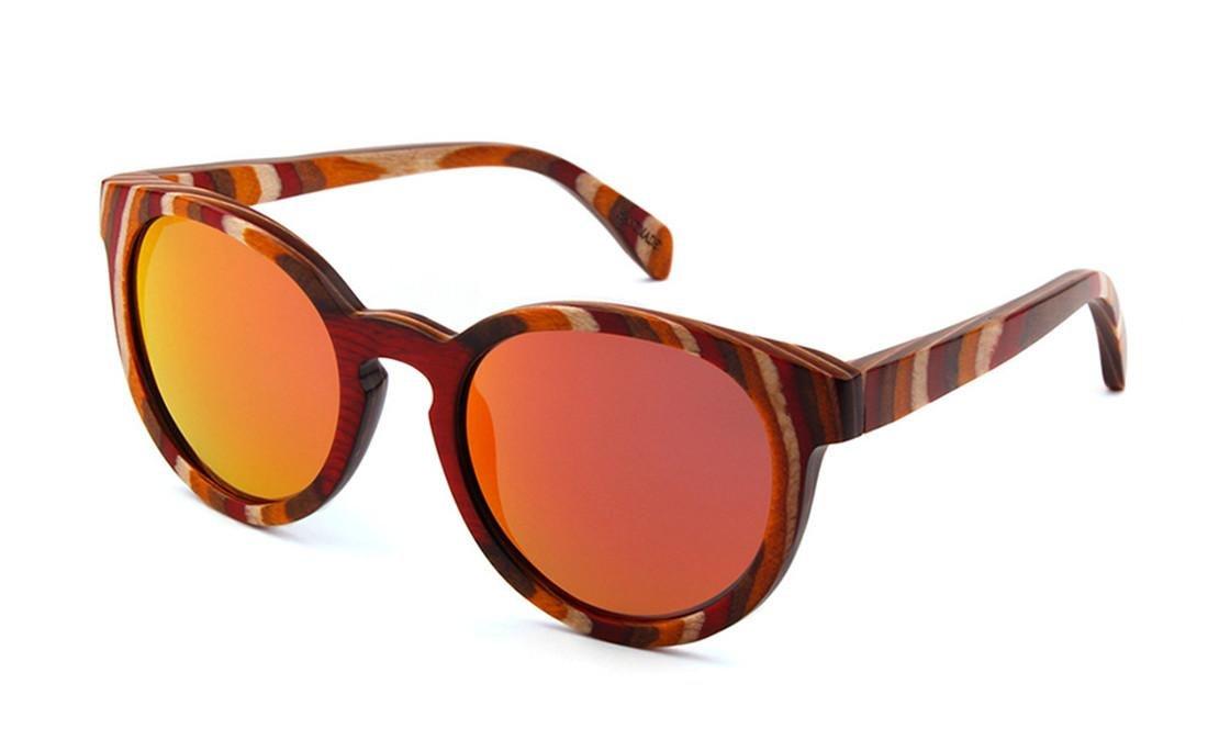 CoFash Gafas de sol unisex estilo retro chino con lentes ...