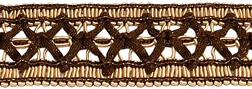18 black braid gimp fabric trim 12 yards