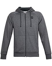Under Armour Mens Rival Fleece Full Zip Hoodie Zip Up Sweatshirt