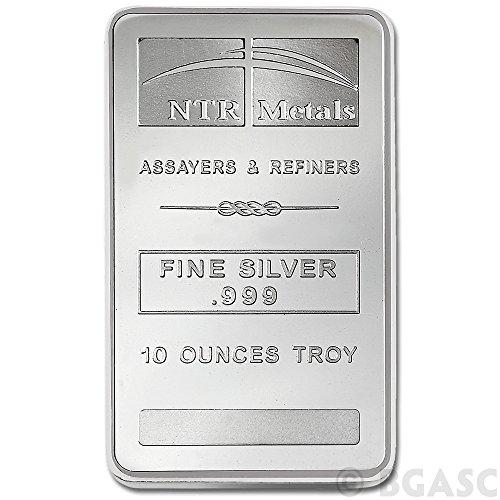 10 oz NTR Silver bar ()