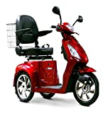 EW36 MOBILITY SCOOTER, FAST POWER ELECTRIC POWER SCOOTER EW36 - RED COLOR
