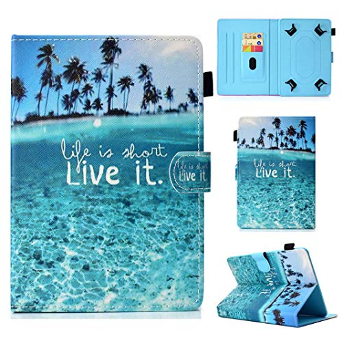 -10 inch Tablet, Leather Stand Protective Case Cover for 9.6