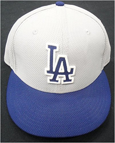 (Los Angeles Dodgers #25 Game Used/Team issued Baseball Cap Hat Size 7 1/2)