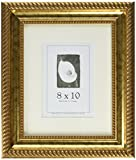 8x10 Wood Picture Frame, (Antique Gold)