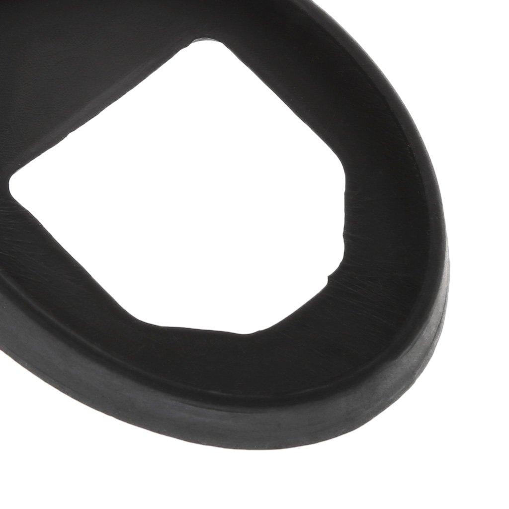 Colodor guarnizione in gomma accessori per auto anelli in gomma base universale per antenna tetto auto