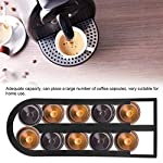 HERCHR-Supporto-per-Dispenser-per-Capsule-di-caffe-per-Uso-Domestico-Nero